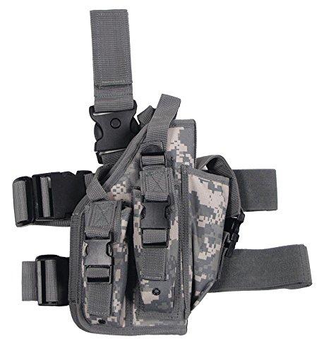 Pistolenbeinholster, AT-digital, Bein- und Gürtelbefestigung, rechts (Pistolenbeinholster Mit Gürtel)