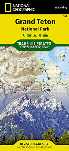 Grand Teton National Park: Wyoming, USA (Trails Illustrated Maps)