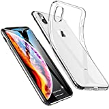 #7: iPhone Xs Max Cover Case, ESR Slim Clear Soft TPU iPhone Xs Max Case Back Cover for iPhone Xs Max 6.5