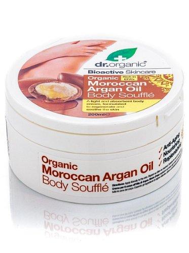 Bioactive Aloe (Dr. Organic Argan Body Soufflè, 200 ml, 1er Pack (1 x 200 ml))