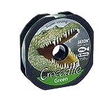 Jaxon Angelschnur Crocodile Green 150m / 0,14mm-0,40mm Spule Monofil (0,40mm / 25kg)