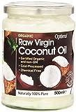 Optima Aceite De Coco Virgen Crudo Orgánico 500 ml pack de 1