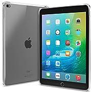 Pratica Custodia sottile completamente specifica per questo modello di iPad di ottima fattura e comoda.  Ultra-leggera ad alto impatto, realizzata in resistente materiale poliuretano termoplastico (TPU).  Protegge il iPad da graffi, sporco, p...