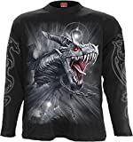 Spiral - Men - DRAGON'S CRY - Longsleeve T-Shirt Black