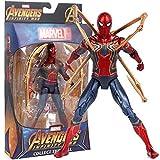 MODYL Jouet modèle, Guerrier en Acier Spiderman Jouet Fait Main poupée Mobile
