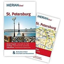 St. Petersburg: MERIAN live! - Mit Kartenatlas im Buch und Extra-Karte zum Herausnehmen