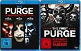 The Purge 1+2+3 Movie-Collection + Teil 4 The First Purge Blu-ray Set (4 Blu-ray)