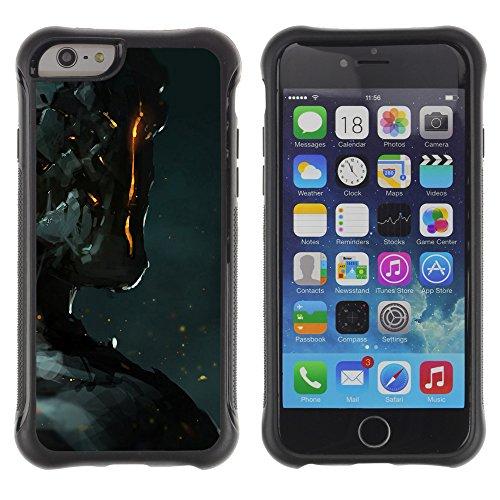 Graphic4You CGI Eyes Manipulation Design Shockproof Anti-Rutsch Weichen Hülle Case Tasche Schutzhülle für Apple iPhone 6 / 6S Design #5