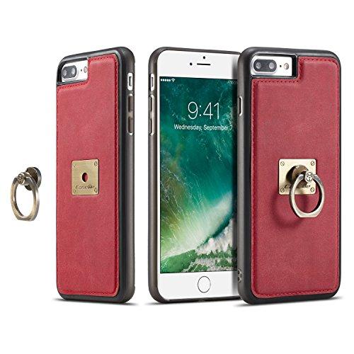 custodia iphone 7 red ultra thin