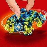 LEGO NINJAGO - Toupie Spinjitzu Jay - 70660 - Jeu de construction