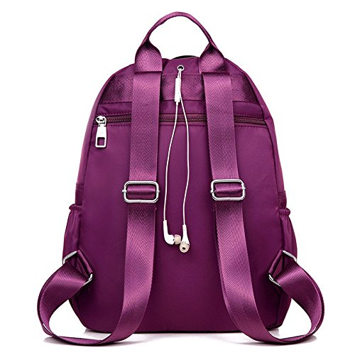meine umhängetasche, new oxford stoffbeutel, leichte casual mami wasserdichte tasche,deep purple deep purple