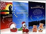 Echte Sternschnuppe in roter Herzbox - inkl. persönlichem Widmungszertifikat (rot) mit Deinem Wunschtext | das romantische Geschenk zum Geburtstag, zur Taufe, zum Jahrestag oder zu Weihnachten