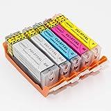 Inkway pgi-570 cartucce di inchiostro commestibile pgi-570x L cli-571x L...