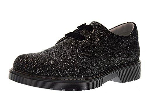 NERO GIARDINI Junior Chaussures lacées A732550F / 100 ARGENT NOIR (35/39)
