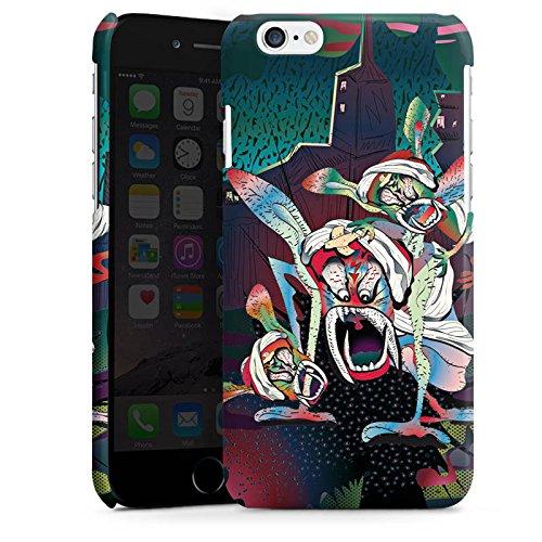 Apple iPhone 5s Housse Étui Protection Coque monstres effrayants Créature légendaire Imagination Cas Premium brillant