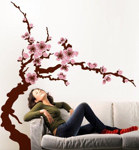 Primavera Poster (Adesivi Creativi Wall Sticker Primavera selbstklebend für Wände, Wanddekoration Maße 120x 130cm)