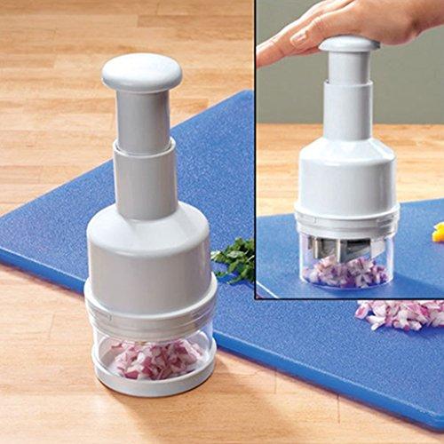Cortador manual de picadora de cebolla de picadora de verduras con cubierta de ajos de jengibre y cortador de ajos, herramienta de dicer