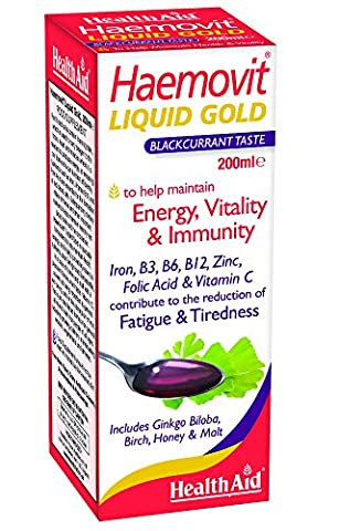 HealthAid Haemovit Gold tonic Liquid - Iron, Malt, B Vitamins