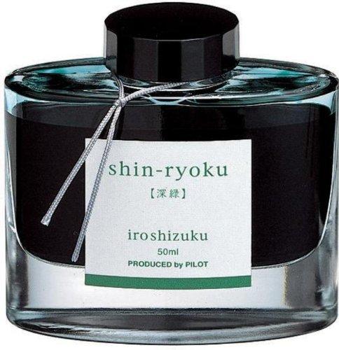 Namiki Iroshizuku Shin-Ryoku 69214 Tintenfass, für Füllfederhalter, Waldgrün