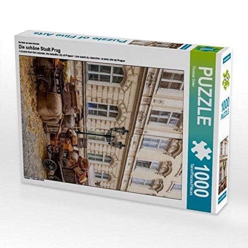 Ein Motiv aus Dem Kalender Die schöne Stadt Prag 1000 Teile Puzzle Hoch