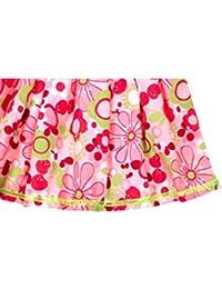 ShopperTree Pink Floral Skirt for Girl's