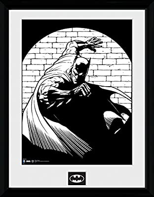 GB Eye LTD, Batman Comic, Spotlight, Photographie encadrée 30 x 40 cm