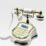 Telefon Antikes europäisches Telefon Haustelefon Hoteltelefon Antikes Handwerkstelefon Retro Telefonfestnetz (Color : B)