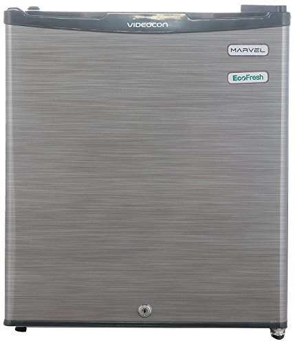 Videocon 47 L 3 Star Direct-cool Single Door Refrigerator (vc060psh-fda/vc060psh-fdw/vc062psh/ Pbh, Silver Hairline)