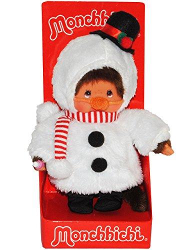 emann - ausziehbar - Monchichi Snowman Winter Weihnachten verkleidet Schnee (Monchhichi Kostüm)