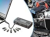 reVolt Powerbank Auto: Notebook-Powerbank mit Kfz-Starthilfe & 2X USB, 12.000 mAh / 400 A (Powerbank Zigarettenanzünder)