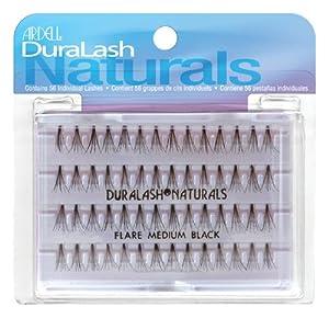Ardell Duralash Natural Flare Medium Black 56 Individual Lashes