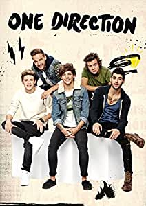 One Direction On Fine Art Paper Hd Quality Wallpaper Poster Amazon