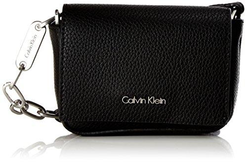 Calvin Klein Gifting Micro Crossbody, Sacs bandoulière femme, Noir (Black), 5x9x14 cm (B x H T)