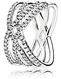 Pandora Piercing ad anello Donna argento - 196401CZ-58