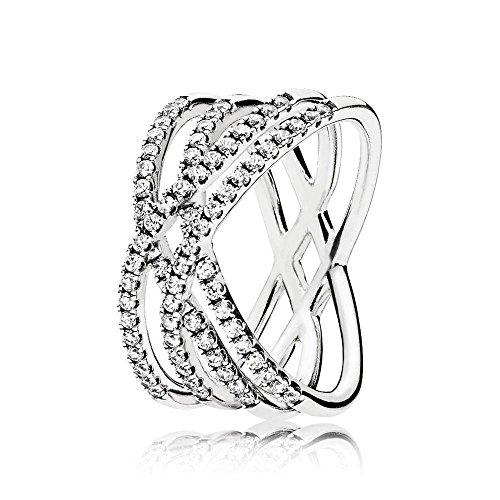 Pandora piercing ad anello donna argento - 196401cz-52
