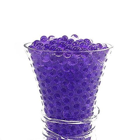 Water Aqua Beads Bio Gel Crystal Balls Soil Vase Wedding Decoration and Arts & Crafts - 2500 Pcs by Trimming Shop