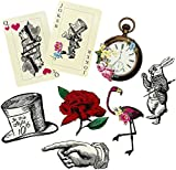 Alice in Wonderland Truly Alice Party Props - pack of 8