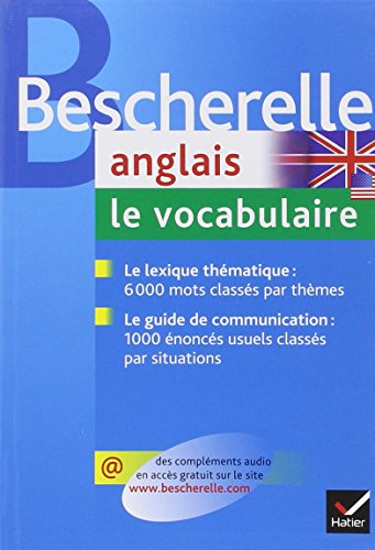 Anglais : Le vocabulaire
