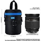 JJC DLP-2II Imperméable pour Intérieur Deluxe Étui pour Objectif-Dimensions: 80 x 152mm [Voir Description pour Compatibilité]