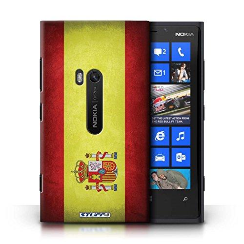 Coque en plastique pour Nokia Lumia 920 Collection Drapeau - Suisse Espagne/espagnol