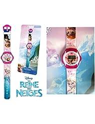 Montre numérique enfant fille - Frozen - Elsa & Anna - La reine des neiges - Disney officiel