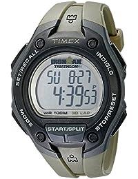 Timex T5K4189J - Reloj para hombres, correa de plástico color verde