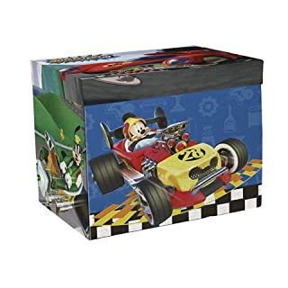 Arditex Mickey Mouse-Aufbewahrungsbox mit Bildteppich geschlossen: 41* 31* 28cm/offen: 84x 95cm