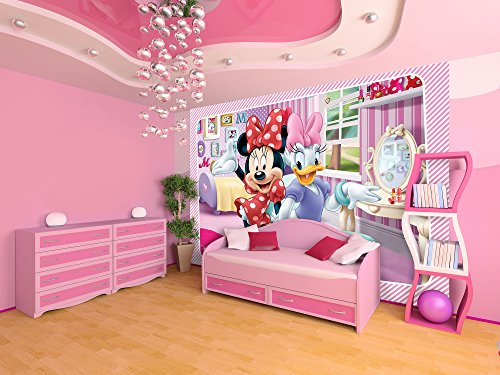 Consalnet 1645p8 vliestapete kinderzimmer design disney minnie mouse mickey mouse clubhouse - Minnie mouse kinderzimmer ...