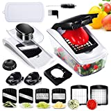 Vegetable Chopper Mandoline Fast Slicer 8 in 1 Multifunction Veggie Slicer Julienne Slicer