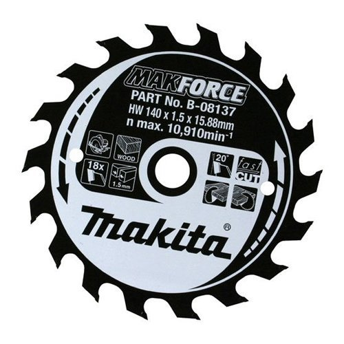 Preisvergleich Produktbild Makita MAKITA Makforce B-08551-Sägeblatt 190 x 30 mm, 48 Zähne