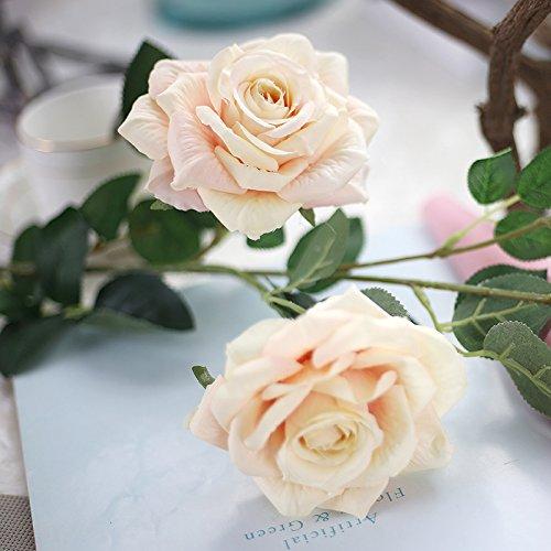 emulazione-continentale-single-rose-fiori-artificiali-fiori-secchi-mazzi-di-fiori-soggiorno-piano-de
