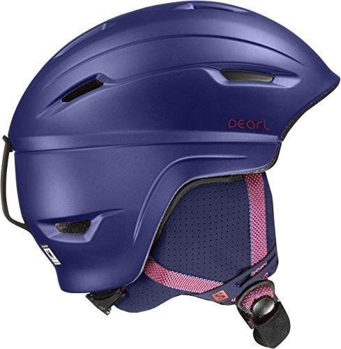 Salomon, Damen Allround-Ski- und Snowboardhelm, EPS 4D, Gr. M, Kopfumfang 56-59 cm, PEARL 4D, Violett, L39035900