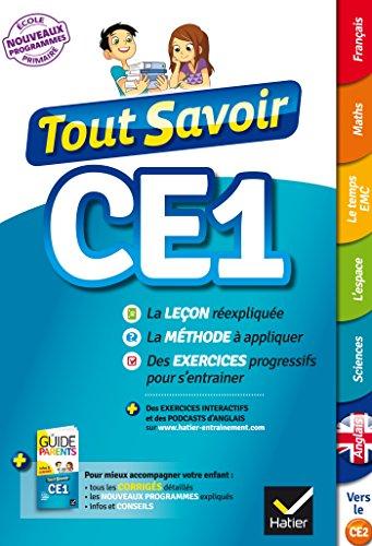 Tout Savoir CE1 par Marc Antoine