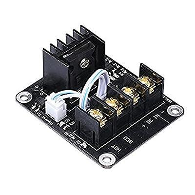 iHaospace 3D-Drucker beheiztes Bett-Leistungsmodul Hochstrom 210A Erweiterung Hot Bed MOS Tube Mosfet mit Kabel für 3D Drucker RAMPS 1.4 ,Anet A8 ,RepRap ,Prusa i3